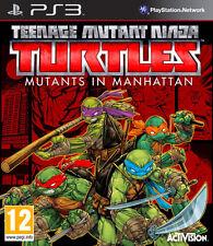 Teenage Mutant Ninja Turtles:Mutants in Manhattan-PlayStation 3 Video Games KIDS