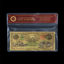 WR 1864  $100 US Treasury Note Gold Banknote In Sleeve Party Giveaway Gift