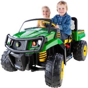 Kids Ride On Toy John Deere Gator Xuv 12 Volt Battery Powered Riding