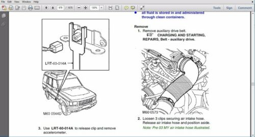 />/> OFFICIAL WORKSHOP Manual Service Repair LAND ROVER DISCOVERY 1999-2004