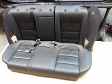 2006 Audi A4 B7 (2004-2008) 2.0T Complete Rear Seat Black Leather