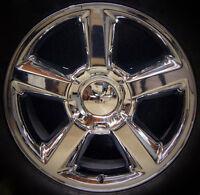2007-14 Chevy Tahoe Suburban Avalanche Ltz 20 Chrome Wheel Rim Replica 9597685