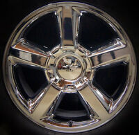 Chevy Tahoe Suburban Avalanche Ltz 20 Chrome Wheel Rim Factory Exact Replica