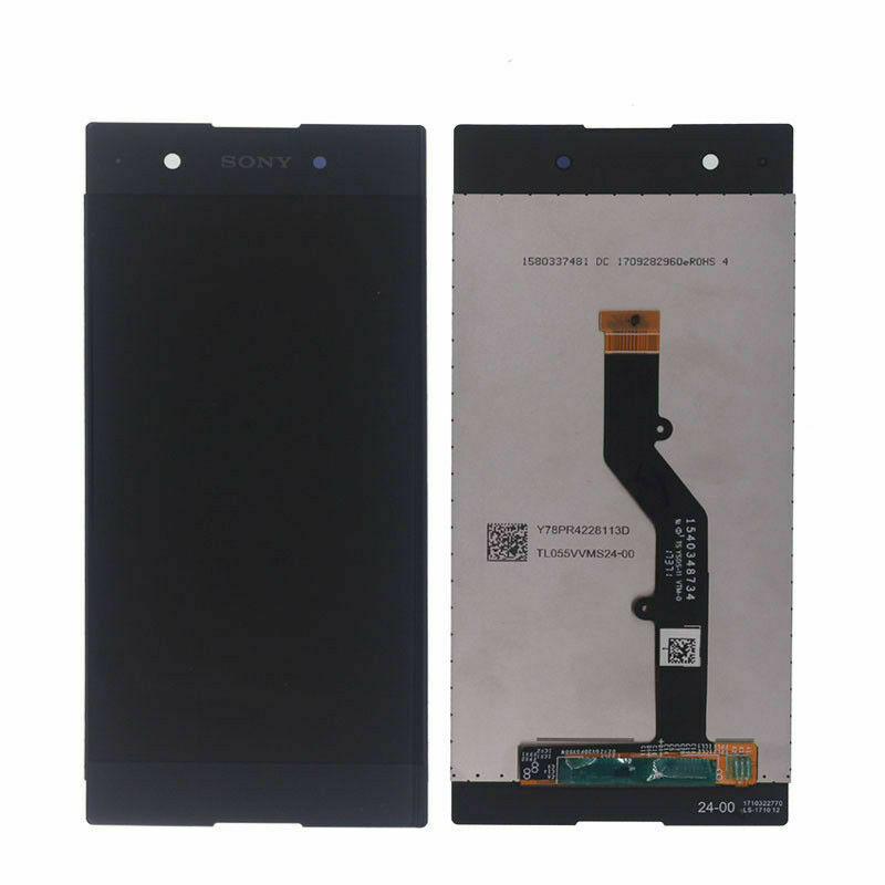 Smartillumi for Spare Part LCD Screen and Digitizer Full Assembly for Sony Xperia XA1 Ultra Black Color : White