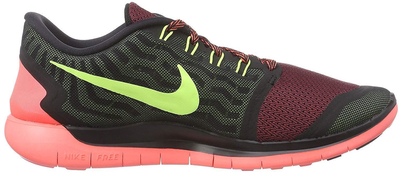 Hombre nike free 5.0 Negro 724382-006 Volt gimnasio Rojo Universidad 724382-006 Negro cómodos zapatos nuevos para hombres y mujeres, el limitado tiempo de descuento 132f38