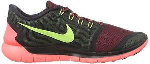 low priced e3066 8f747 Image is loading MENS-Nike-Free-5-0-Black-Volt-Gym-
