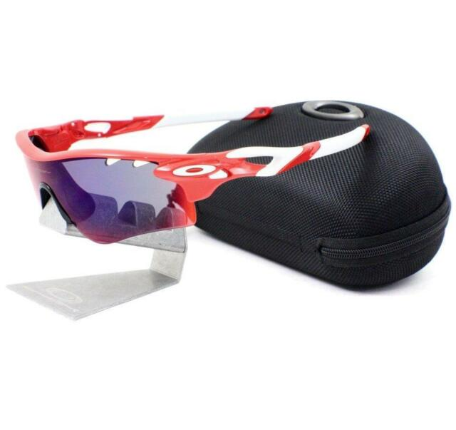 a54a7e544b Oakley OO 9181-16 RADARLOCK PATH VENTED Positive Red Iridium Mens Sunglasses
