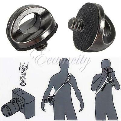 "1/4"" Screw Connecting Adapter for Camcorder Camera Shoulder Quick Sling Strap"