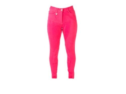 HYPERFORMANCE BRIGHT DENIM LADIES BREECHES HORSE  RIDING VARIOUS COLOURS & SIZES  with cheap price to get top brand