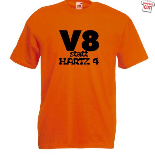 V8 en lugar de hartz 4 t-shirt hasta 5xl Dodge jeep us Cars