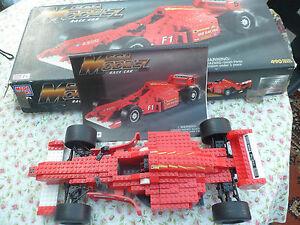 Belle Rare Built Mega Bloks Mega Rc-voiture De Course. 490 Pcs, 9751