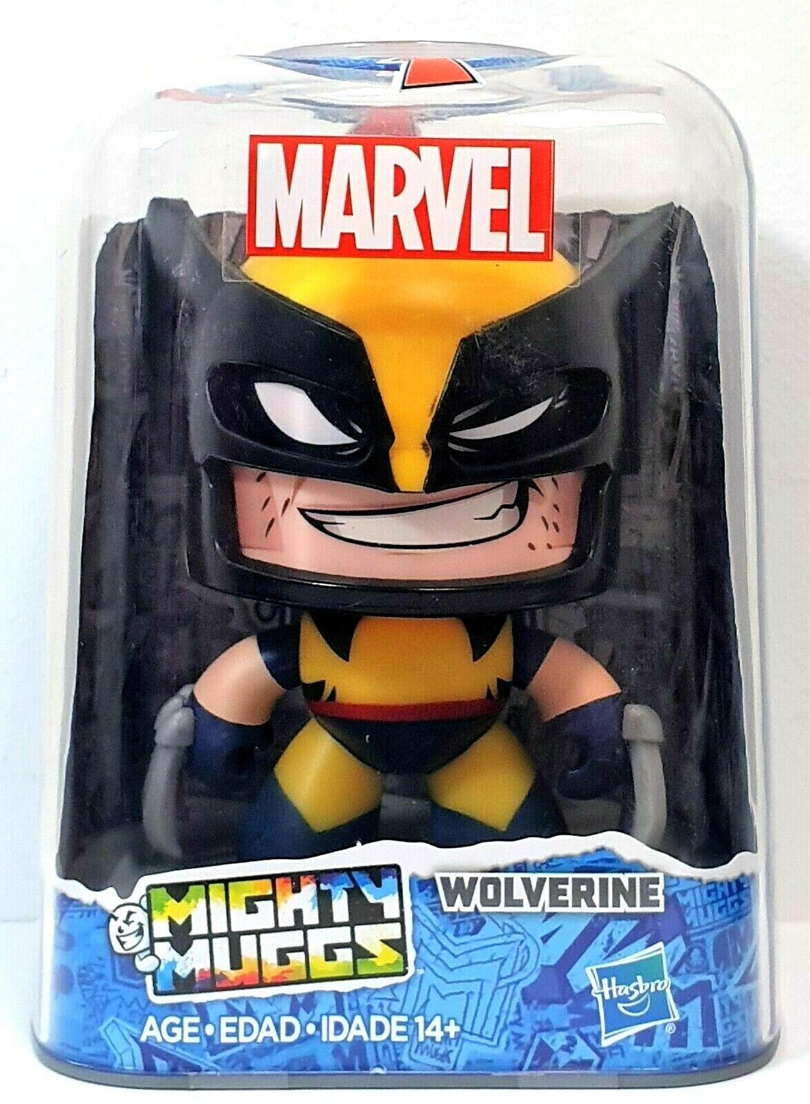 Marvel Mighty Muggs Wolverine Age 14 New//Sealed Hasbro
