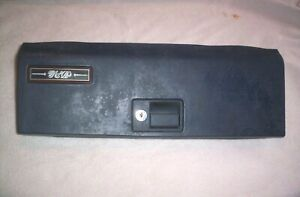 87 CADILLAC SEDAN DEVILLE GLOVE BOX DOOR -Check this out ...
