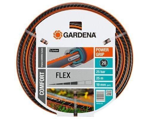 GARDENA Comfort FLEX Schlauch Gartenschlauch 19 mm (3 4 ) 25 m ohne Systemteile | Online Store  | Starke Hitze- und Abnutzungsbeständigkeit  | Kostengünstiger