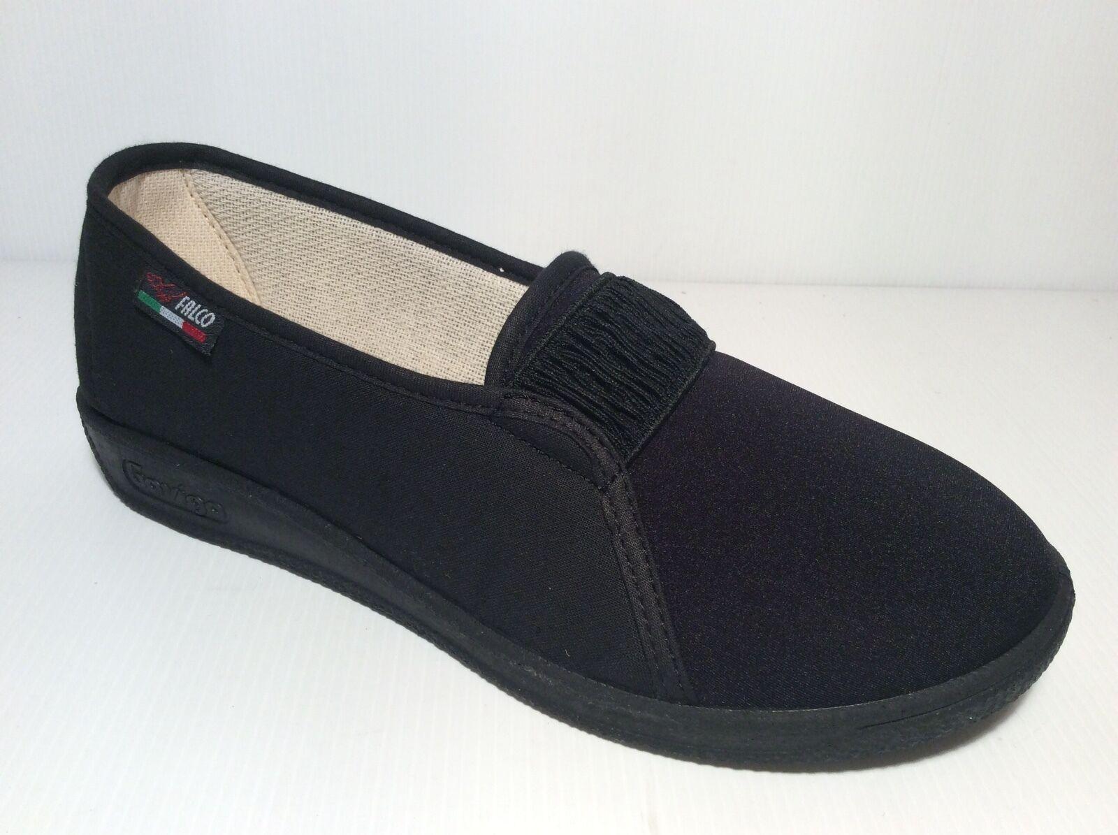 GAVIGA 195 nero pantofola Estiva Donna Elasticizzata Riabilitazione antiscivolo