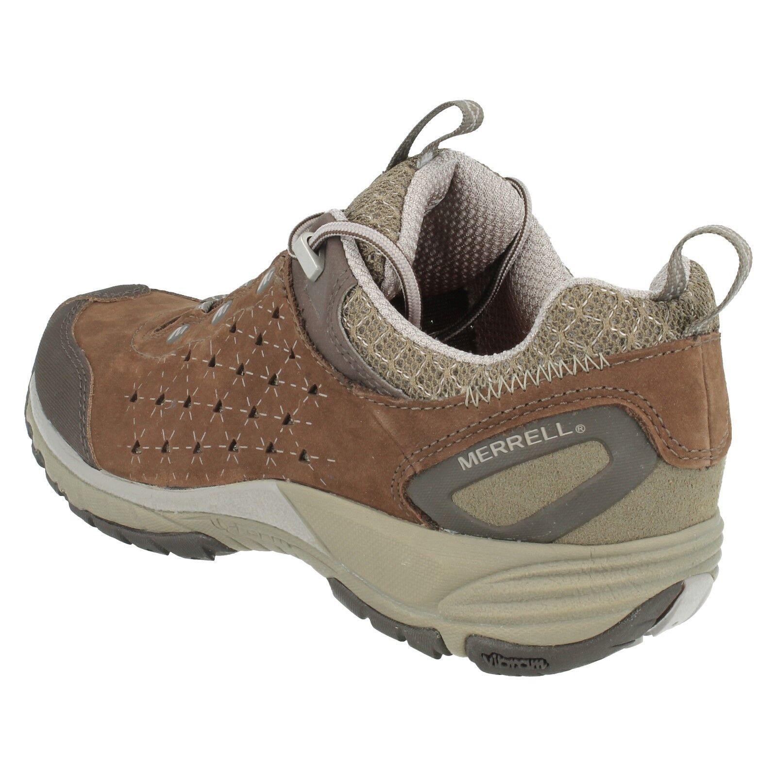 J16708/700 Leder Merrell Damen Avian hell Leder J16708/700 Wanderschuhe Schuhe 25a020