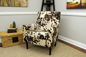 Details about Accent Chair Lounge Seat Rolled Arm Fabric Home Office Living  Room Furniture