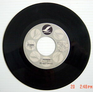 1976-039-S-45-R-P-M-RECORD-HENRY-GROSS-SHANNON-POKEY-No-2