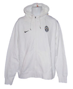 Details about New NIKE JUVENTUS Football Vintage FORZA AW77 Superior HOODIE JACKET White S