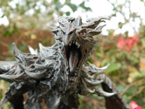 Alduin Skyrim Dragon Statue Skyrim Collectors D/&D Pathfinder colossal gargantuan