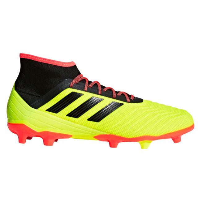 a6be3bdcc8 Adidas Predator 18.2 FG Men's Soccer Cleats DB1997 - Yellow, Red (NEW)  List@$150