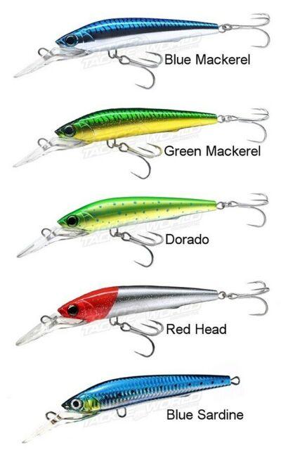 5 ct Topwater Fishing Lures Big Mouth Popper Yozuri style plugs TP1