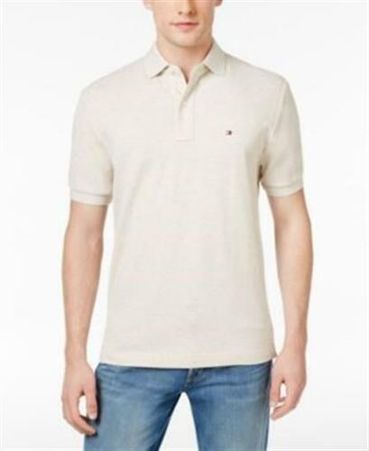 Tommy Hilfiger Classic Fit Cotton Polo Birch Heather Mens Size Medium New