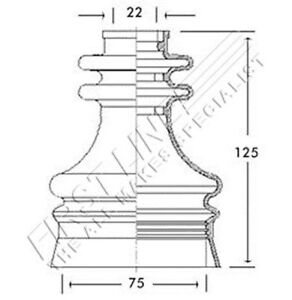 Borg-amp-Beck-BCB2700-Kit-de-Arranque-CV-CONJUNTA-se-ajusta-Saab-Interior-Nuevo-O-E-SPEC