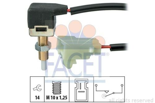 gra Made in Italy-OE equivalent 7.1297 1 Facet Interrupteur Embrayage actionnement
