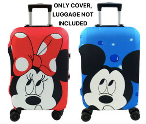 Minnie-Mickey-Travel-Case-Protective-Cover-Luggage-Suitcase-Skin-Dust-Proof