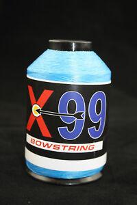 100% Vrai Bcy X99 Bowstring-matériau 1/4 # Bleu électrique Bow String Making-afficher Le Titre D'origine