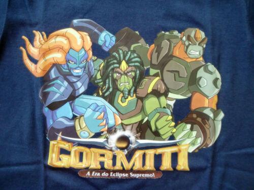 * GORMITI t-shirt taille 92-128 NEUF * * *