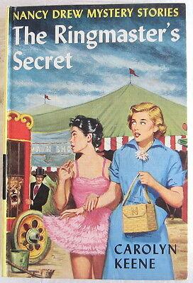 Nancy Drew #31 THE RINGMASTER'S SECRET Original Text Carolyn Keene