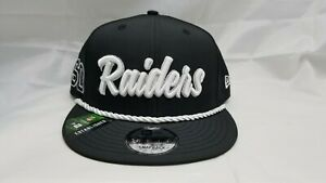 NEW-ERA-9FIFTY-SNAPBACK-HAT-NFL-OAKLAND-RAIDERS-BLACK
