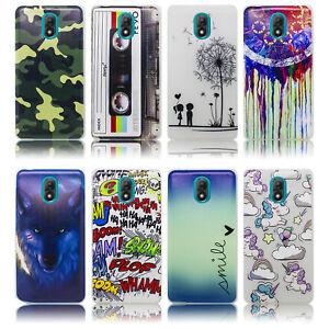 Wiko-Lenny-5-Huelle-Silikon-Smartphone-Handy-Huelle-Schutz-Huelle-Case-Cover