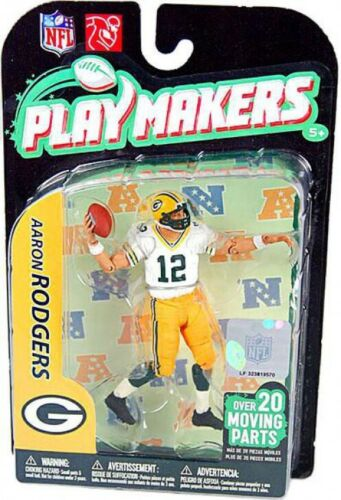 NFL Green Bay Packers Playmakers Series 2 Aaron Rodgers Action Figure