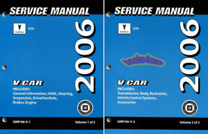 shop manual 2006 pontiac gto service repair book factory workshop rh ebay com 2006 pontiac gto repair manual 2006 pontiac gto repair service manual