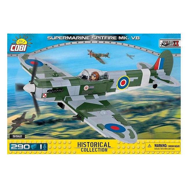 World War II - - - 290 piece Supermarine Spitfire Mk. VB 5f070c