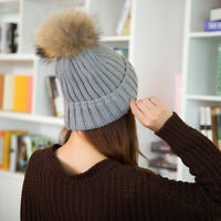 Autumn Winter Knitting Wool Hat for Women Cap Ladies Beanie Knitted new