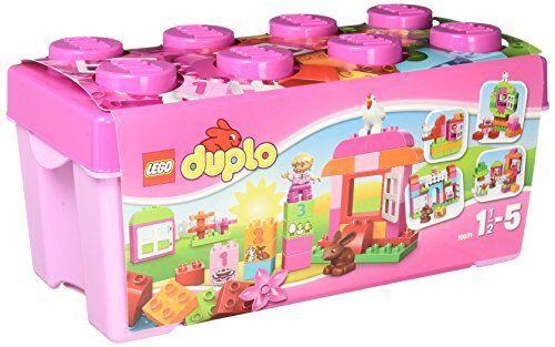 Lego 10571 DUPLO All-in-One  rose-Box-of-Fun  qualité garantie