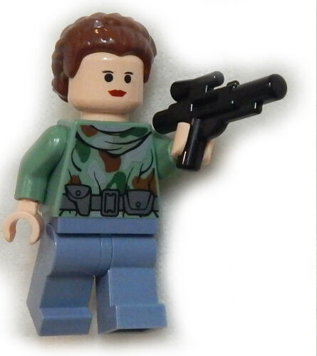 NEW LEGO STAR WARS PRINCESS LEIA MINIFIG figure minifigure 8038 battle of endor