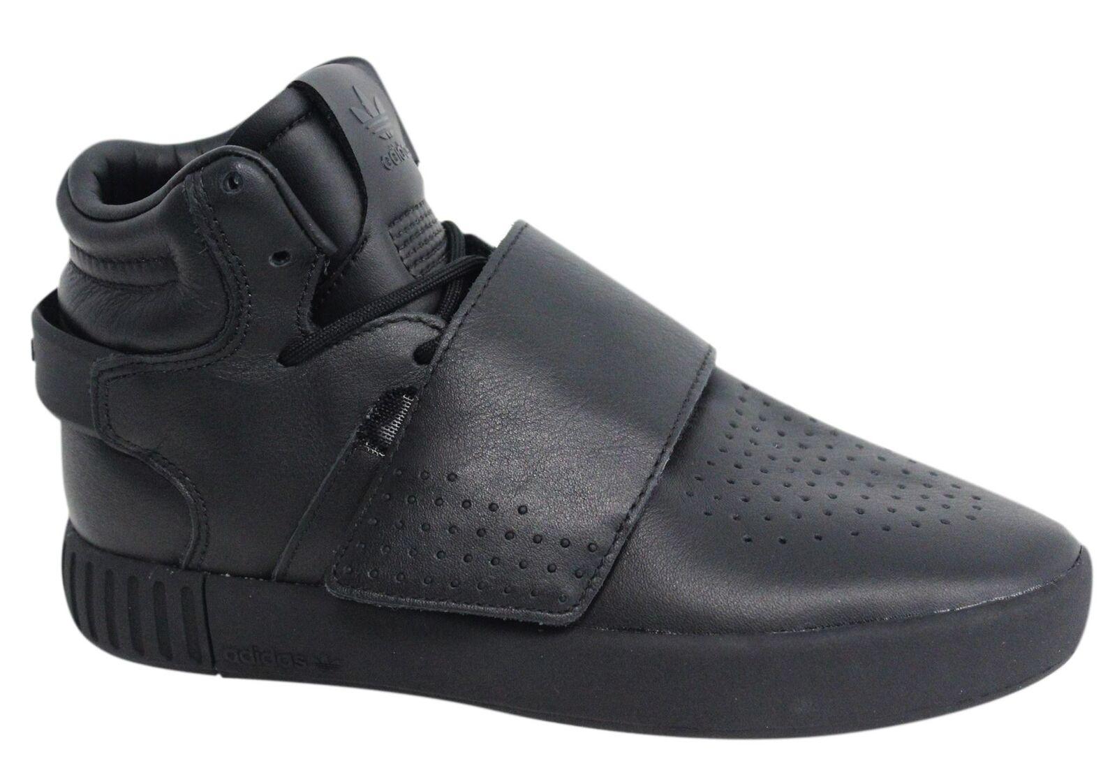 Adidas di tubulare invasore cinghia merletto Uomo - formatori di Adidas pelle nera bw0871 m11 dc55a8