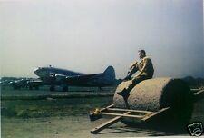 US Air Force William L Dibble Baishiyi Chongqing 1945 World War 2 China 6x4 Inch