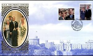 GIBRALTAR 1999 Mariage Royal Benham Soie FDC First Day Cover #C45863-afficher le titre d`origine aAvg3g4U-07155549-344047438