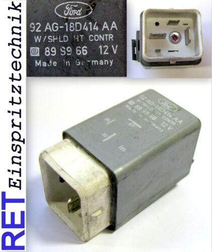 Relais de contrôle Relais 92ag-18d414aa Chauffage Pare-Brise Avant FORD ESCORT original