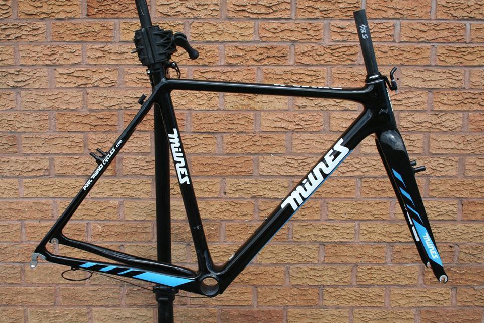 Paul Milnes X-Wing Carbon Cyclocross Bike Frameset Frameset Canti Cantilever