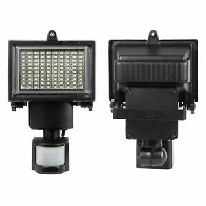 2x solar powered motion sensor security flood light 100 led garden 2x solar powered motion sensor security flood light 100 led garden lamp outdoor aloadofball Images