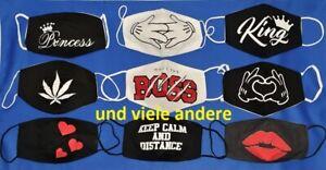Mundschutz-Alltagsmaske-Nasenschutz-Behelfsmaske-Motivmaske-Troepfchenschutz