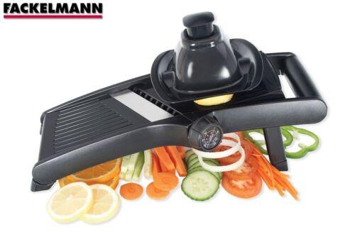 Professional Madolin Slicer Julienne Cutter Chopper Fruit Vegatable Peeler Black