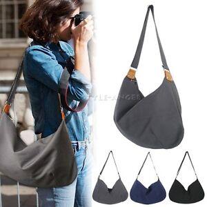 Women Fashion Handbag Canvas Large Shoulder Bag Cross Body Bag ...